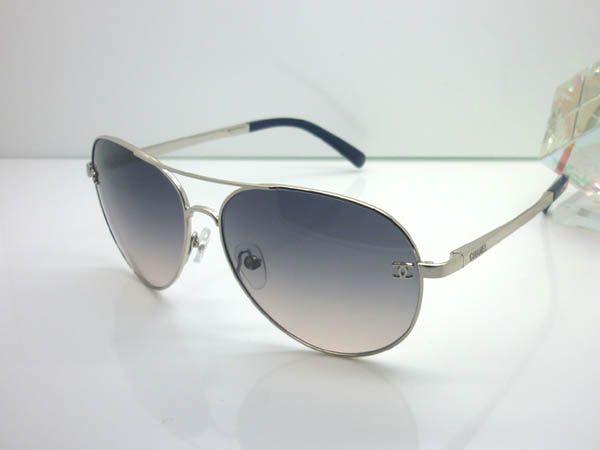 84ff747ea2454 Óculos De Sol Chanel · Chanel 4189-T-Q Sunglasses silver glasses online  store