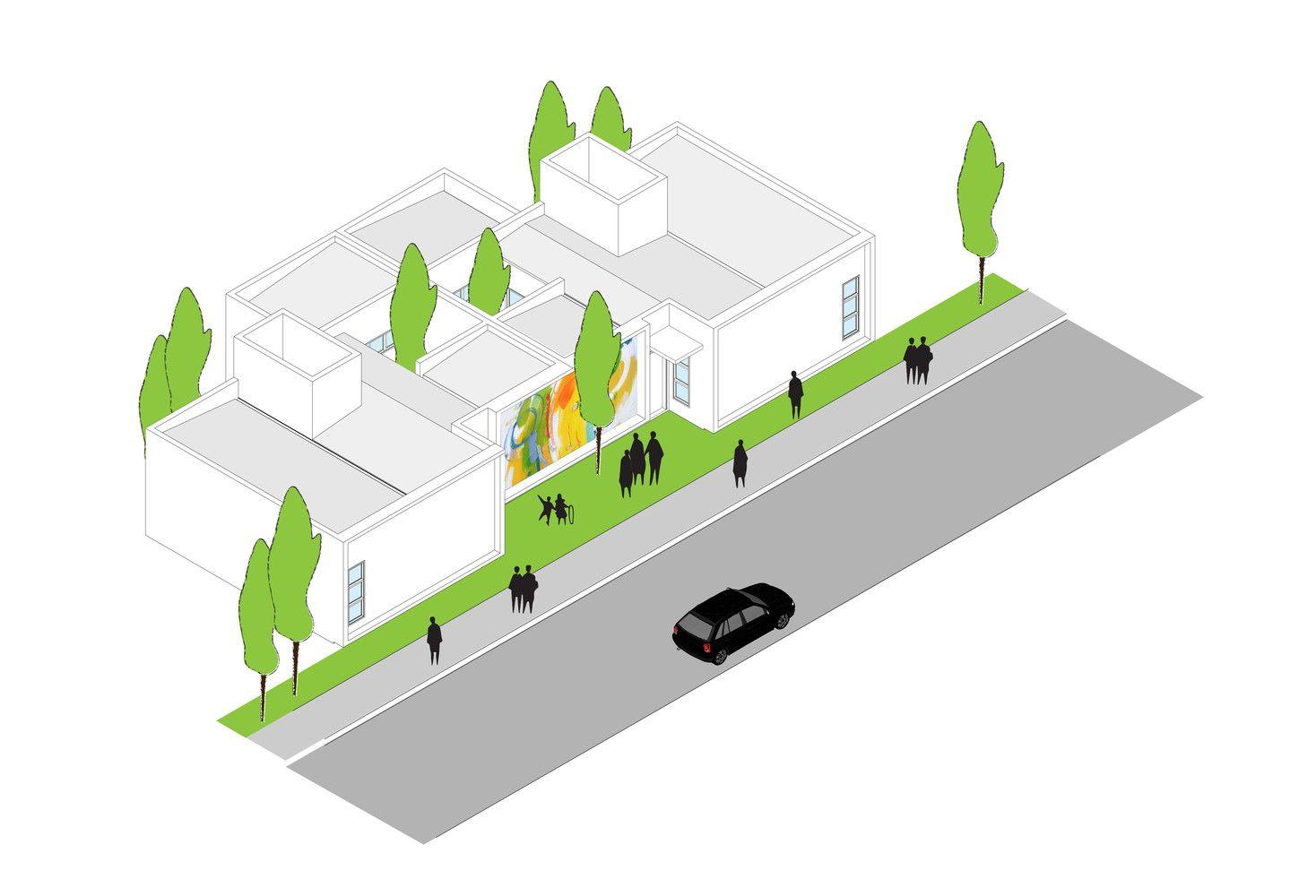 Galeria de Casa dos Caseiros / 24.7 arquitetura design - 14