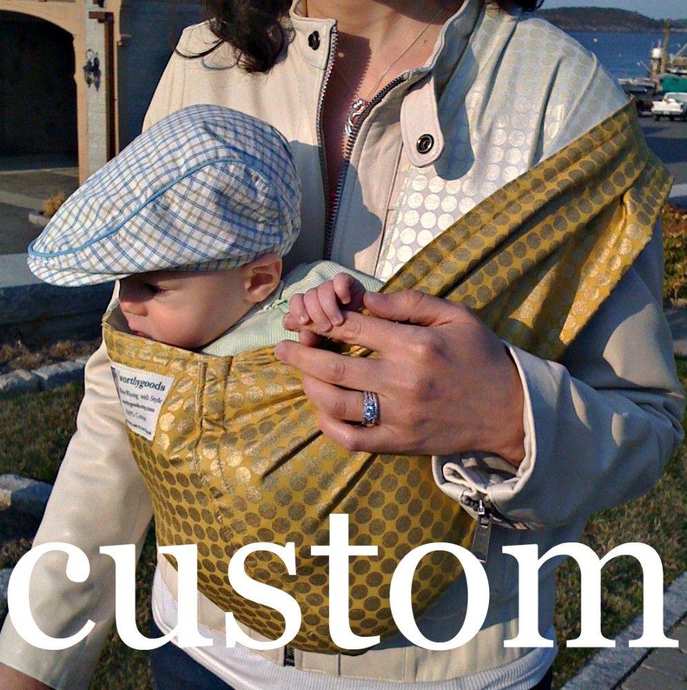 Baby Sling Carrier Custom