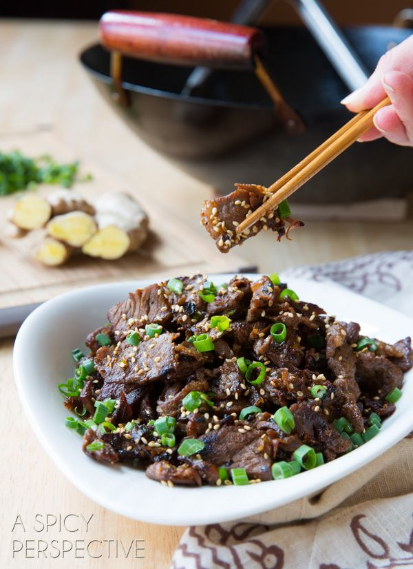 Bulgogi Beef: serve with brown rice and butter sauteed ...
