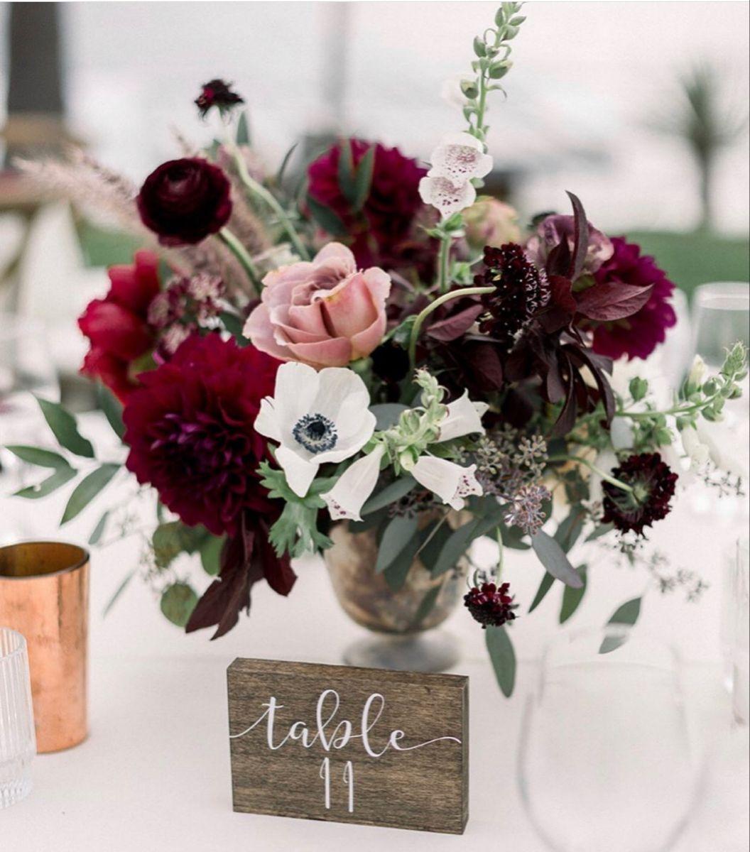 Burgundy Flowers In 2020 Burgundy Flowers Burgundy Wedding Flowers Purple Wedding Flowers