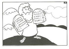 EBD Infantil é bom demais!!!: Ilustrações da história de José e Moisés