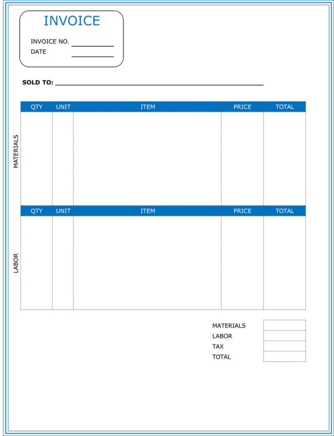 Construction Invoice Template Yahoo Image Search Results Invoice Template Word Invoice Template Freelance Invoice Template