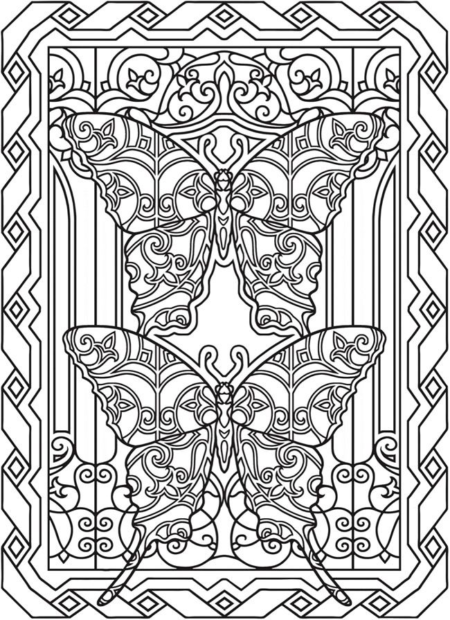 Creative Haven Fantasy Butterflies Coloring Book Welcome to Dover Publications is part of Coloring books -