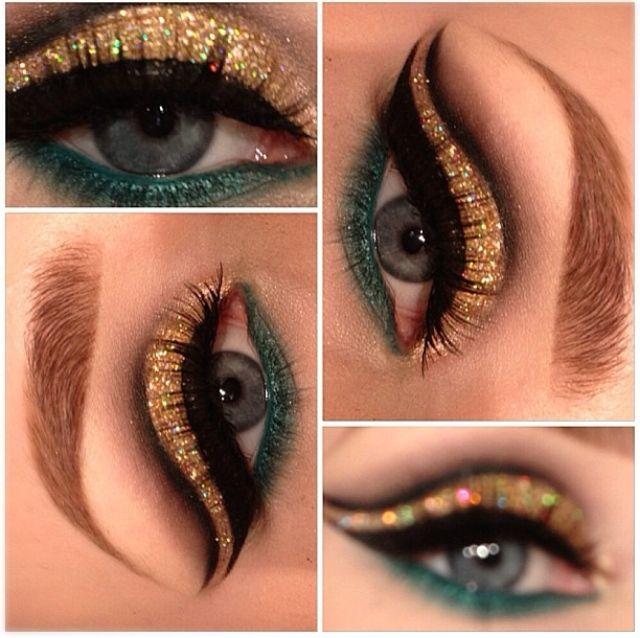Egyptian/Cleopatra Costume Makeup