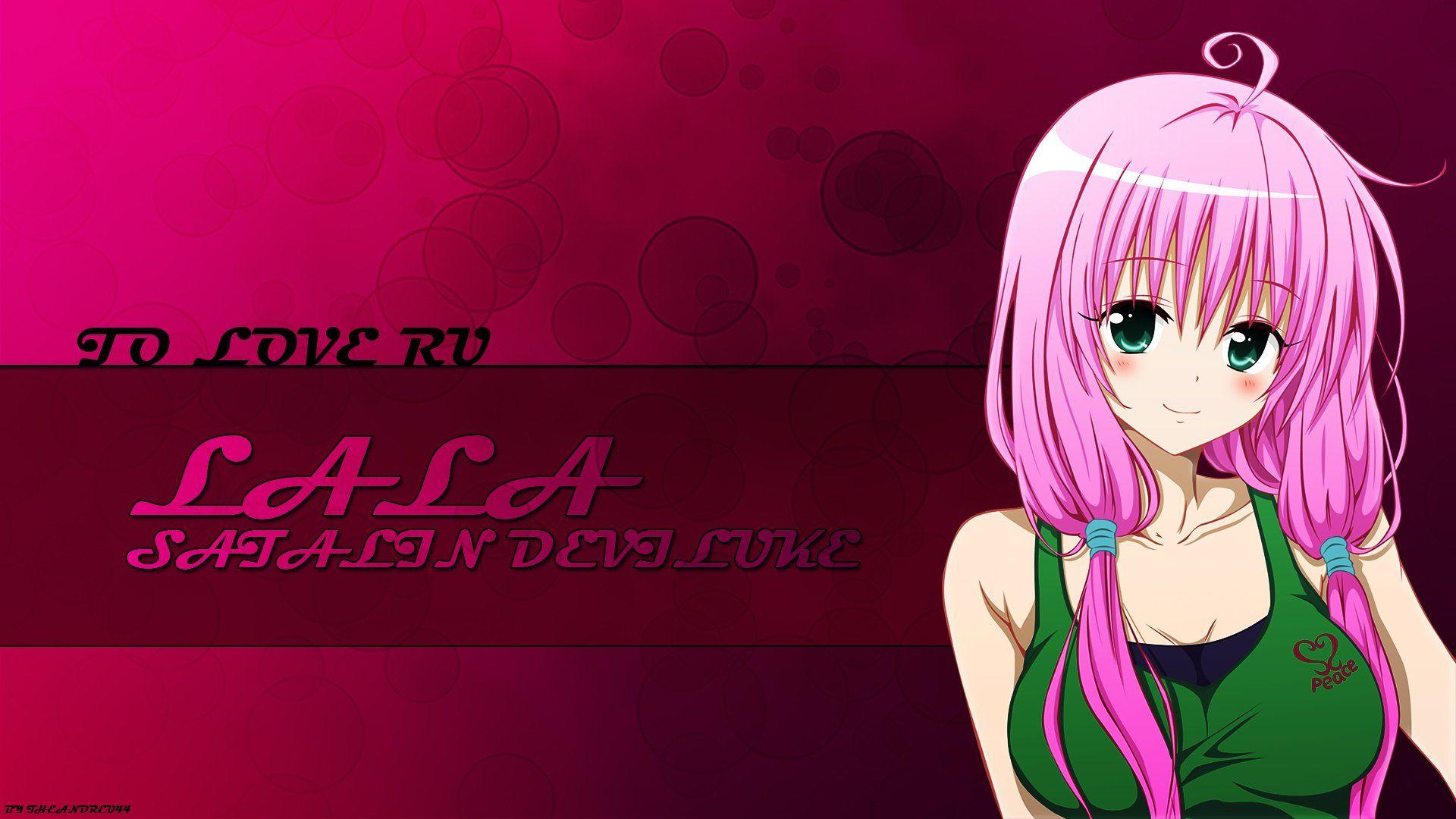 Lala Satalin Deviluke To Love Ru Anime Character Wallpaper