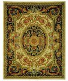 RugStudio presents Safavieh Savonnerie SAV206A Ivory / Gold Hand-Tufted, Best Quality Area Rug