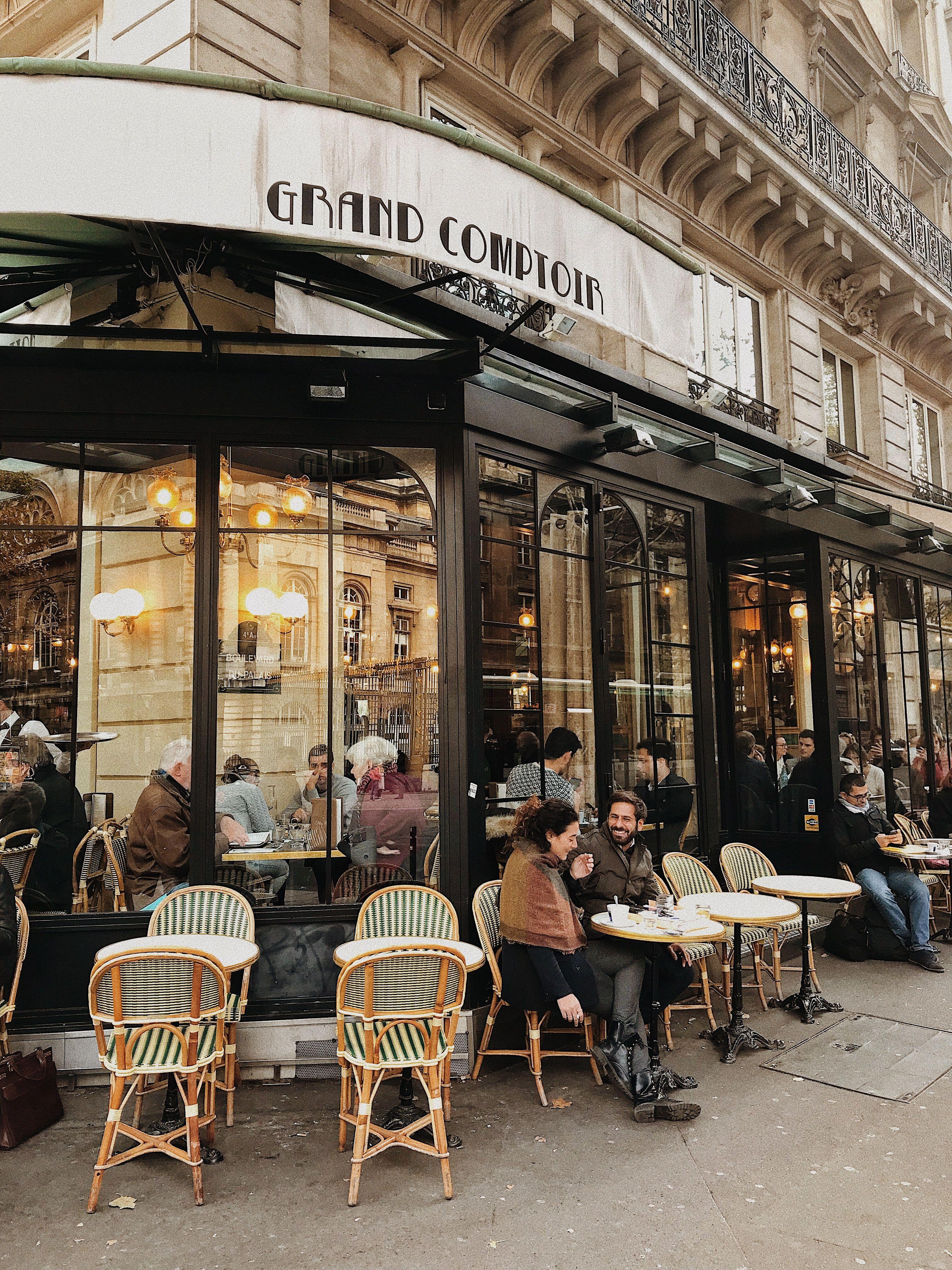материал уличные кафе парижа фото трассе