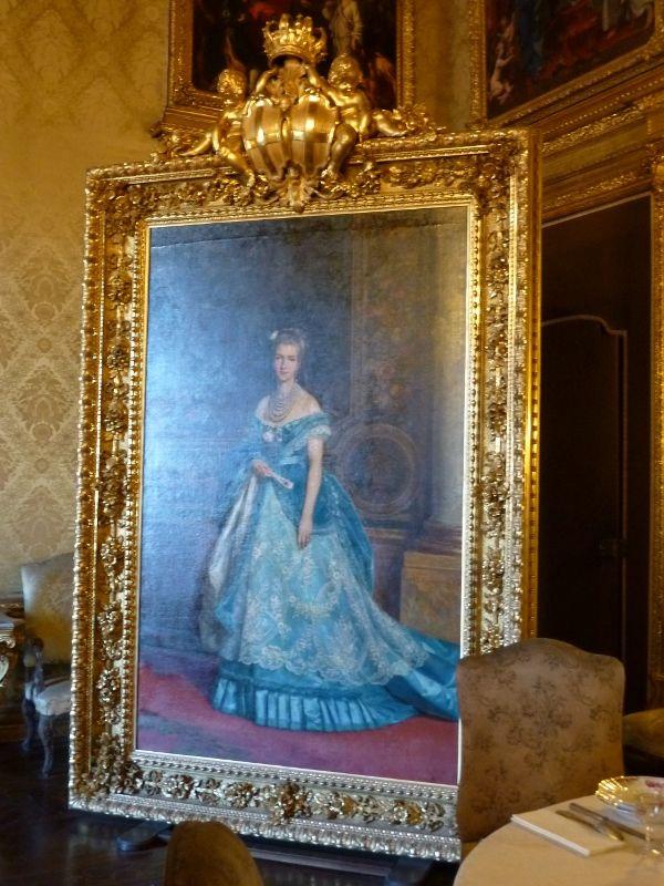 Ritratto della Regina Margherita - Palazzo Reale di Torino - Appartamento della Regina - Sala delle Cameriste