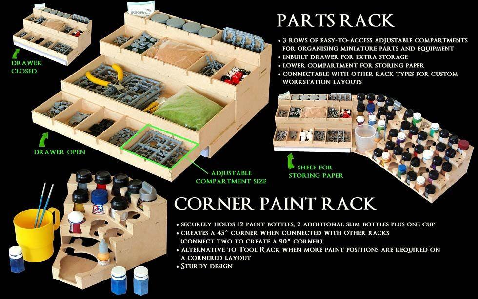 paint accessories series airbrushing pinterest station peinture maquettes et id es de meubles. Black Bedroom Furniture Sets. Home Design Ideas