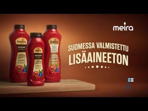 Meira Oy / Ketchup bottles / Ketsuppi pullot