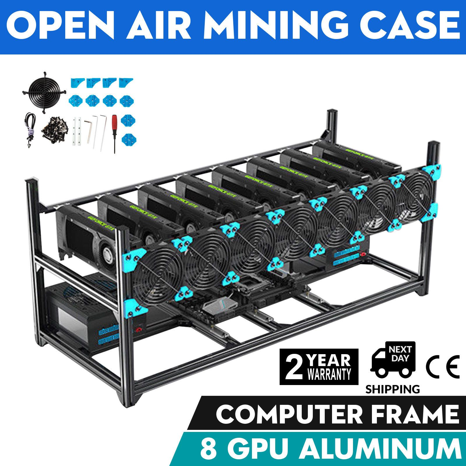 cryptocurrency open air mining case