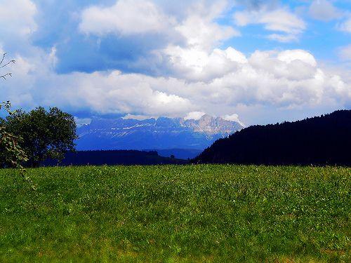 Dolomiti  -  Italy   - View from Pietralba ( Bolzano / Bozen  / Bulsan )    - 2014