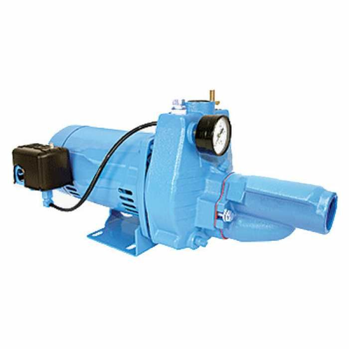 Little Giant 558282 Convertible Jet Pressure Switch Pump 110v 120v 208v 240v Jet Pump Pumps Pond Pumps