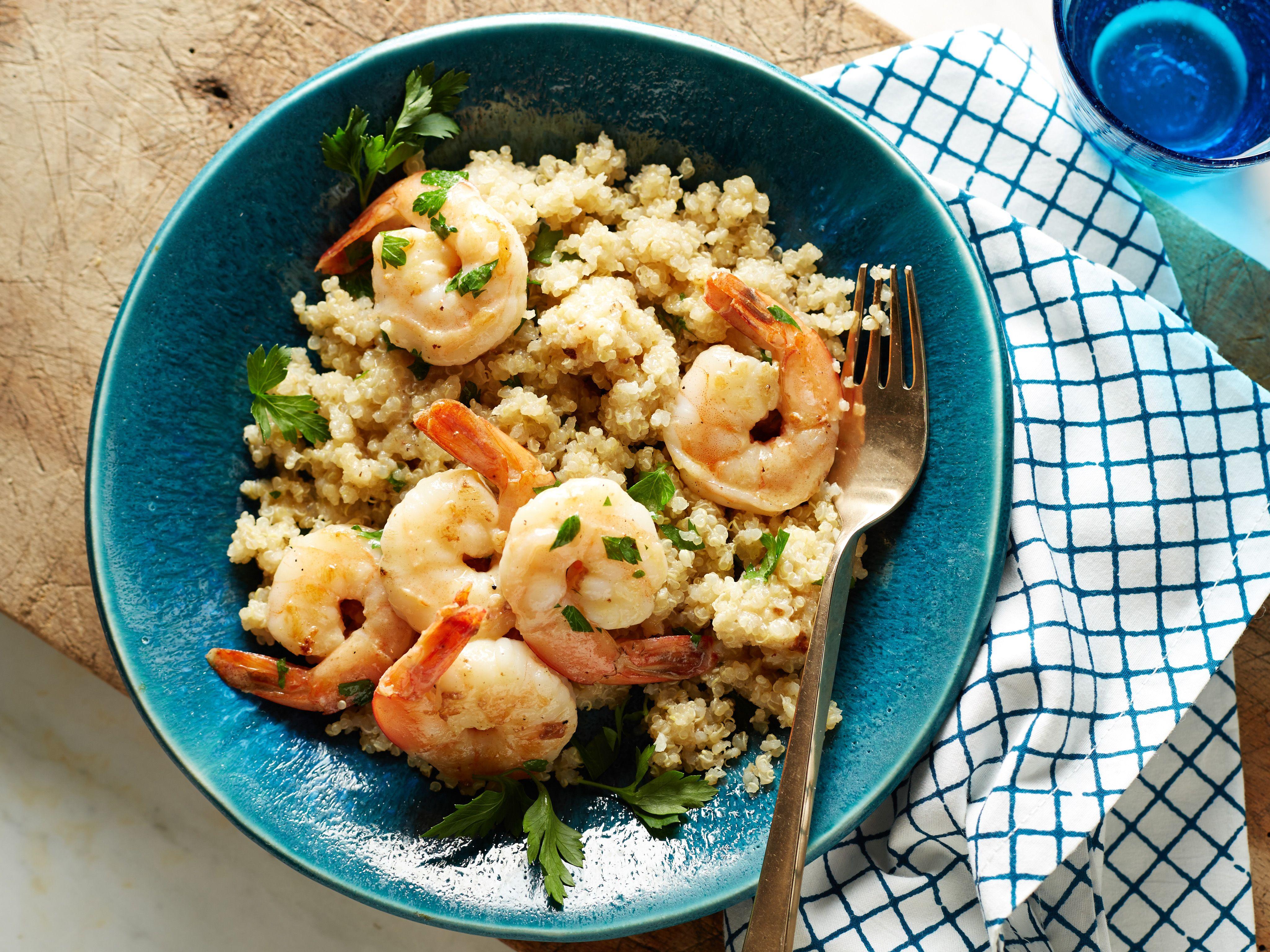 Healthy garlic shrimp and quinoa grits recipe garlic shrimp healthy garlic shrimp and quinoa grits recipe garlic shrimp quinoa and garlic forumfinder Images