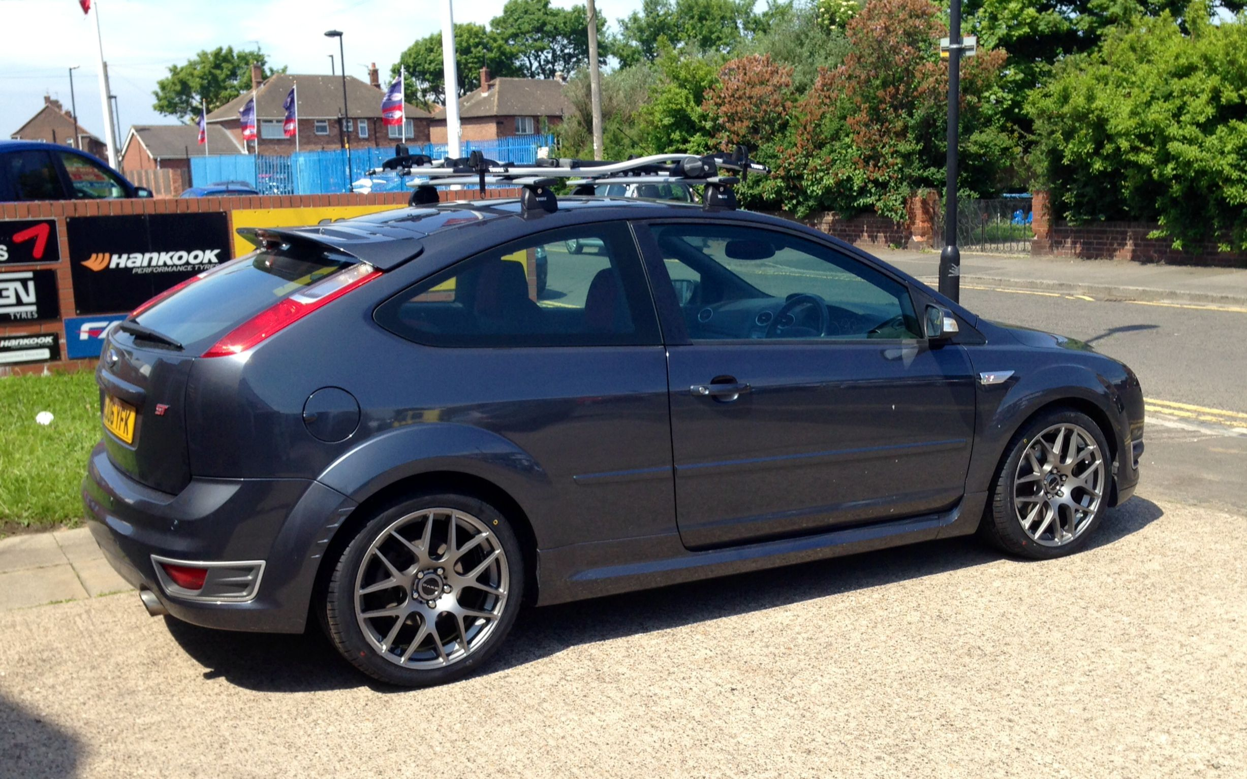 Ford focus on 18 dare x2 alloy wheels at foxhunters tyres alloys www
