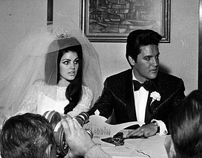 Elvis And Priscilla Wedding Press Conference May Find This Pin More On Robert Sean Leonard