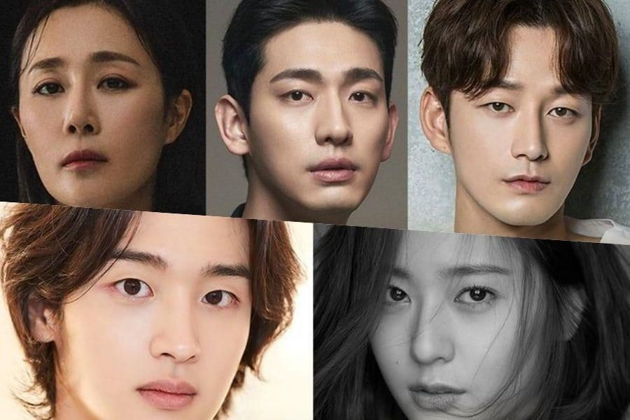Yoon Park And Lee Hyun Wook Confirmed To Join Jang Dong Yoon And Krystal's New Drama