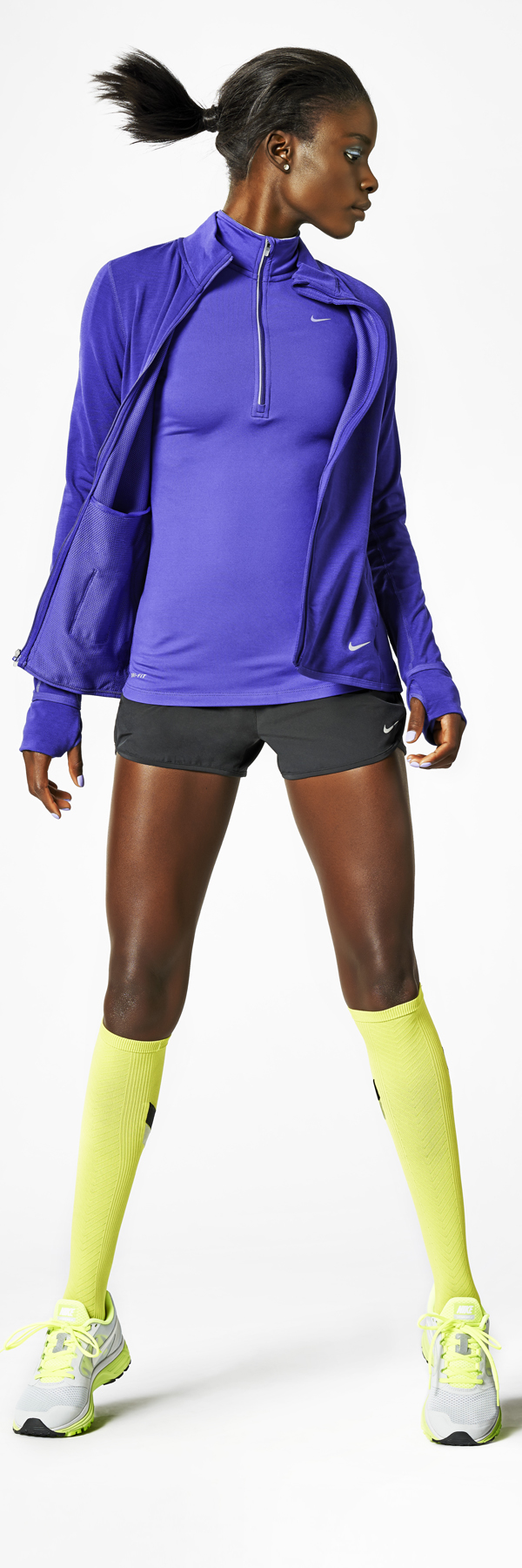 Ready to go style. #nike #dri-FIT #hoodie #running #style