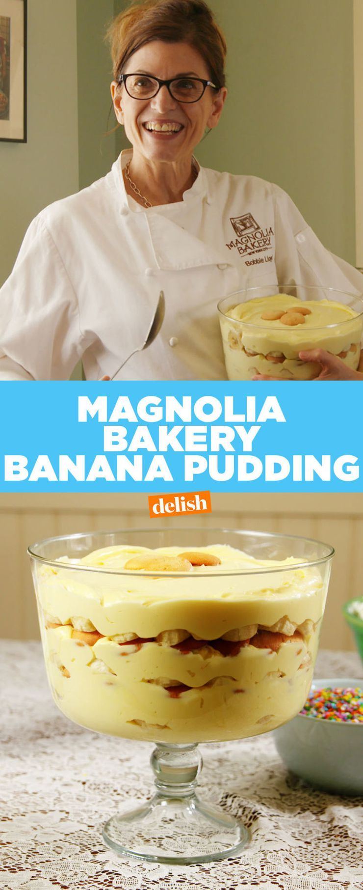 Magnolia Bakery Spills The Secrets To Its Famous Banana Pudding is part of Banana pudding - Here's exactly how it's made