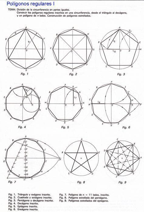 Figuras Geometricas Estrelladas Buscar Con Google Tecnicas De Dibujo Geometria Descriptiva Y Poligonos Estrellados