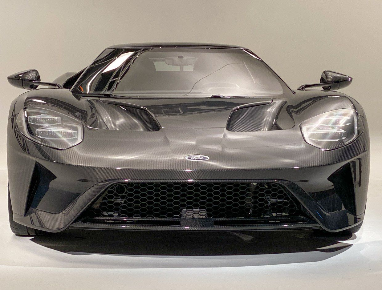 2020 Ford GT Liquid Carbon Edition: Chicago 2020 Photo Gallery