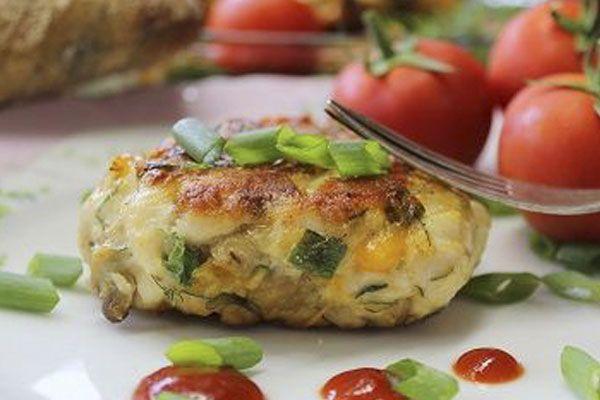 куриные пальчики с грибами и сыром