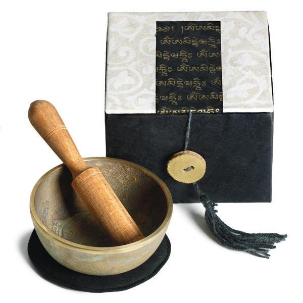 Om Mani Meditation Bowl Box