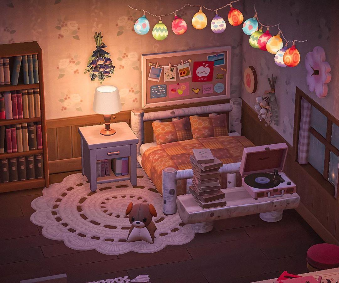 Acnh bedroom ideas cottagecore