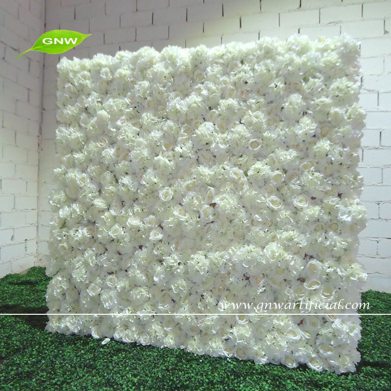 Gnw artificial flower wall with wholesale silk flower hydrangea and gnw 5ft white artificial flower wall with wholesale silk flower junglespirit Gallery