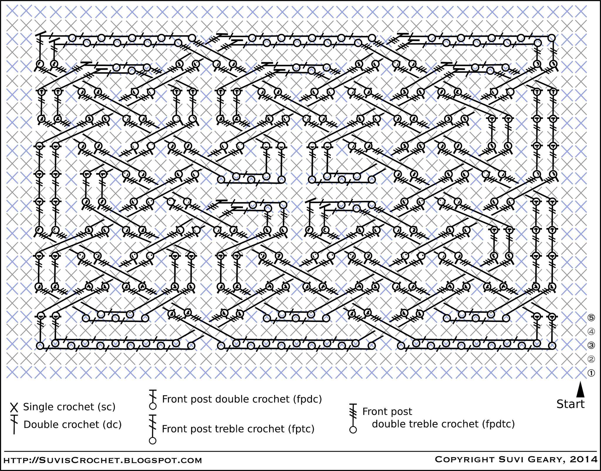 Suvis Crochet Book Of Kells Celtic Square Knot Hkeln Double Diagram