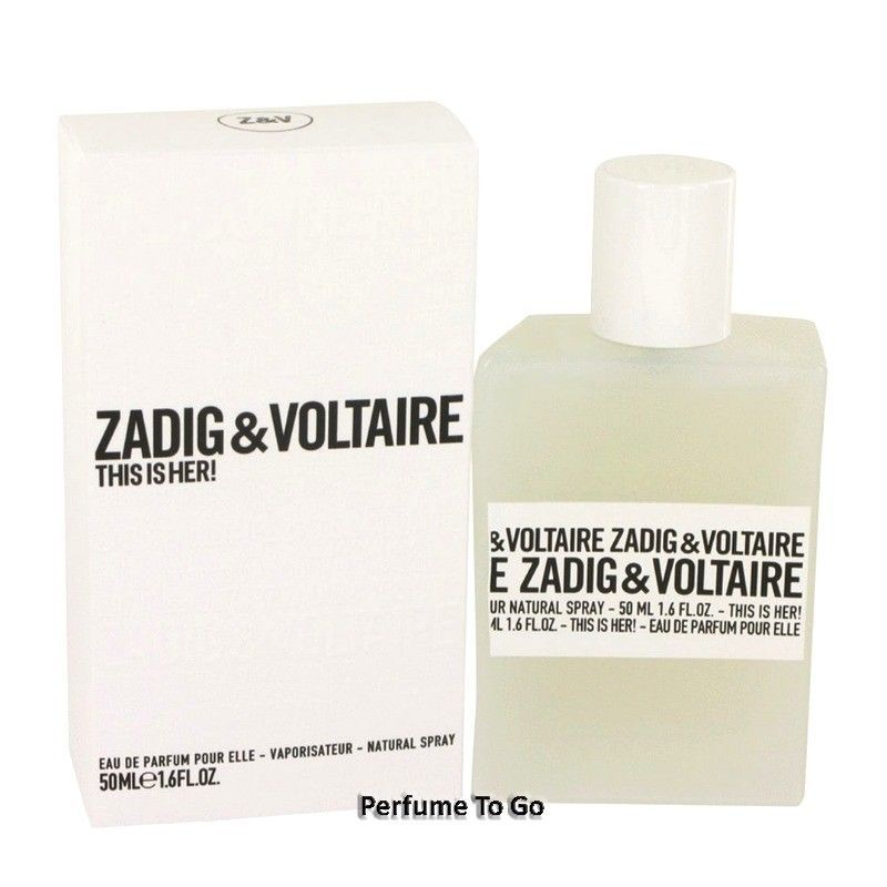 59 95 This Is Her By Zadig Voltaire 1 6 1 7 Oz 50 Ml Edp Spray New Sealed This Zadig Voltaire 1 61 7 Sp Women S Fashion 55 Women