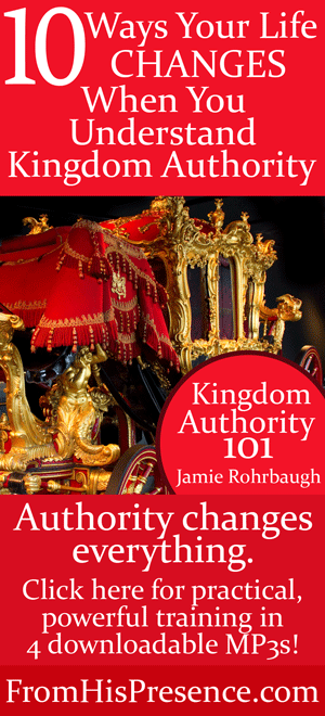 Here are 10 ways your life will change when you understand how to walk in miracle-working, supernatural kingdom authority. Get the workshop MP3s today!