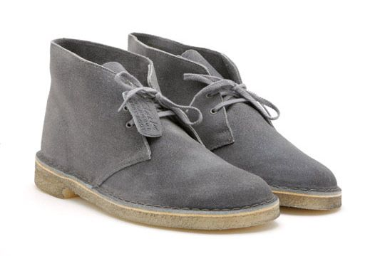eb4485edb0f Clarks Desert Boot  Distressed Grey. Coming soon to Le Chic Shack. Send  pricing inquiries to LeChicShackeBay gmail.com