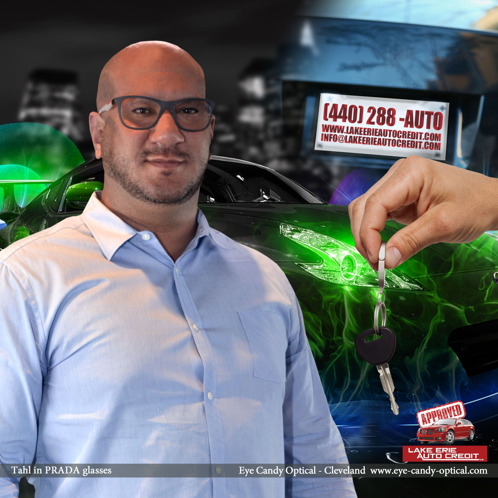 Lake Erie Auto Credit >> Tahl From Lake Erie Auto Credit Looks Great In His New Prada Glasses