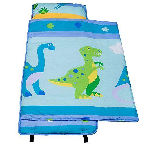 Olive Kids Dinosaur Land Cotton Nap Mat Olive Kids Kids Nap Mats Nap Mat Olive Kids