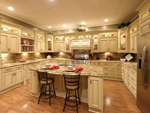 Luxury Classic Ready To Assemble Kitchen Cabinets