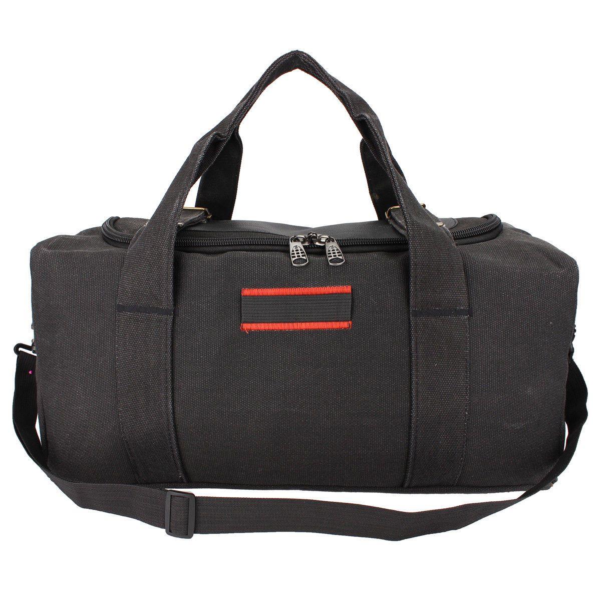 14.69 - Men Military Canvas Gym Duffle Large Shoulder Bag Outdoor Travel  Luggage Handbag  ebay  Fashion 462b8b81b80c5