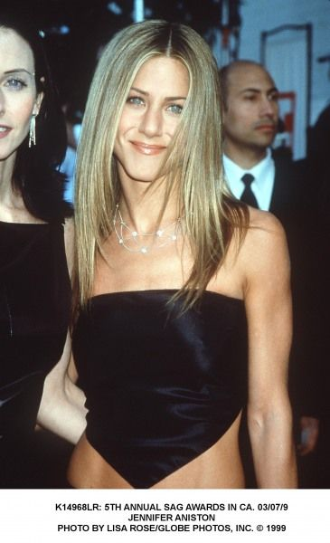 Jennifer Aniston attends the 1999 SAG Awards