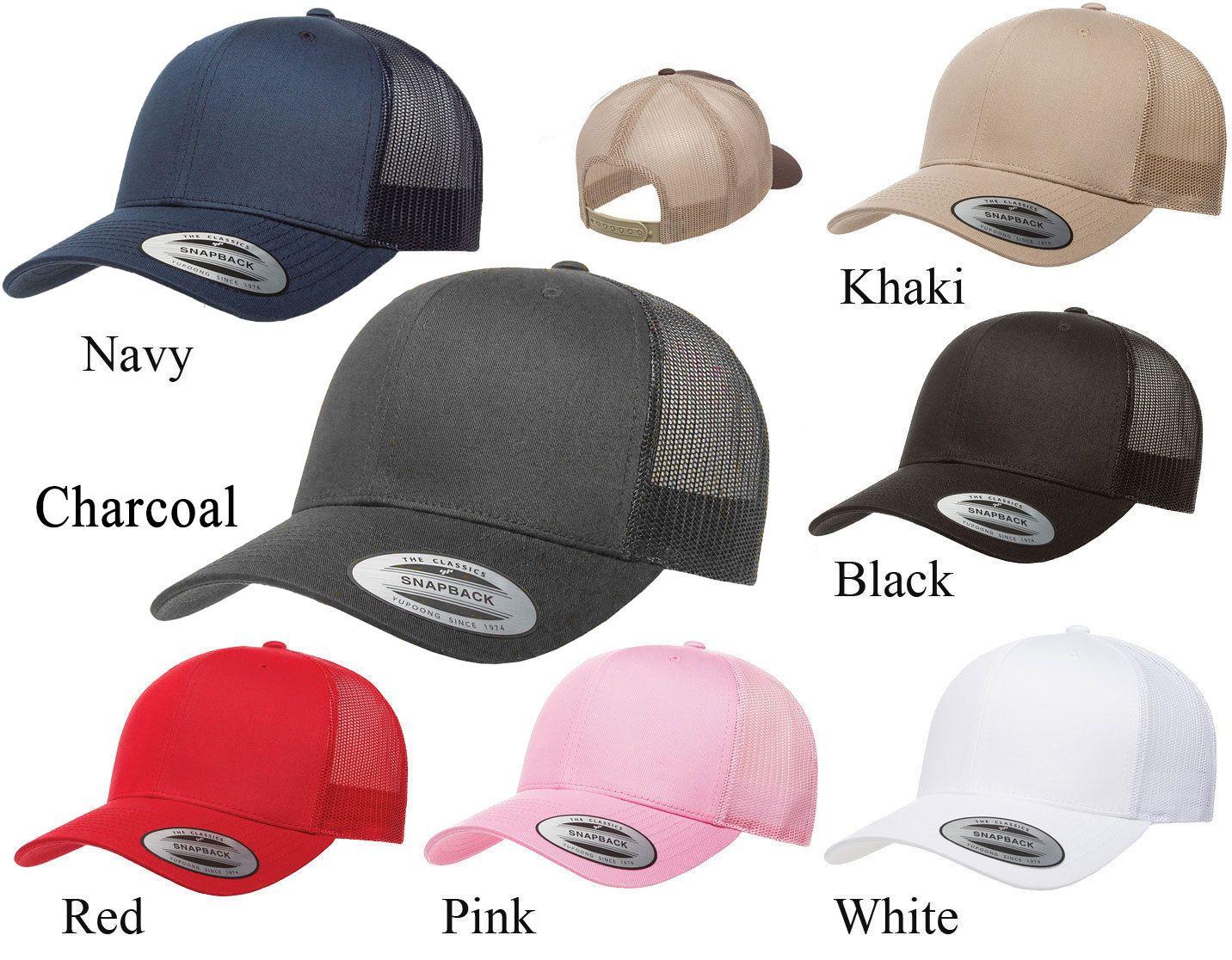 694fb0536 6606 Flexfit Yupoong Retro Trucker Hat Snapback Baseball Cap ...