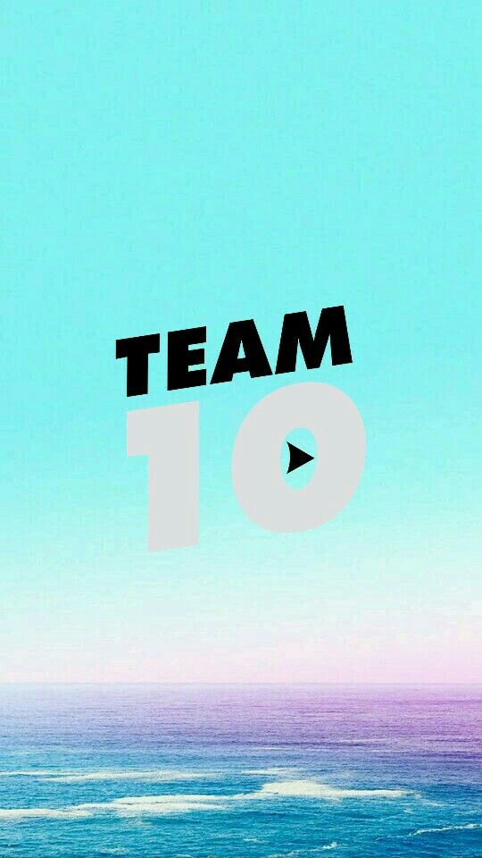 #iphone #team10 #wallpaper Team 10 iphone wallpaper | Me ...