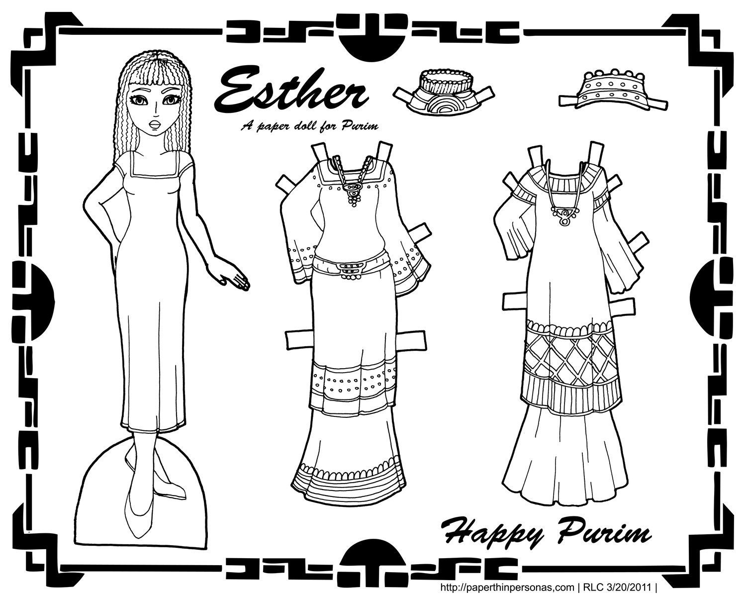 Pin By Olga Parkina On Paper Doll 20 Paper Dolls Doll Family Bible Coloring Pages