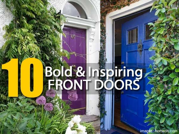 10 Strikingly Bold And Inspiring Front Doors