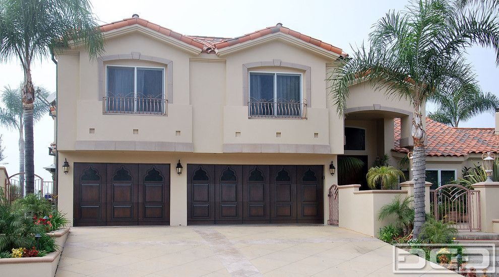 Luxury Garage Doors >> Luxury Garage Doors Garage And Shed Mediterranean With Carriage