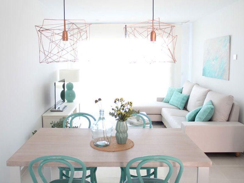 Un apartamento coqueto y funcional apartamentos for Decoracion piso playa
