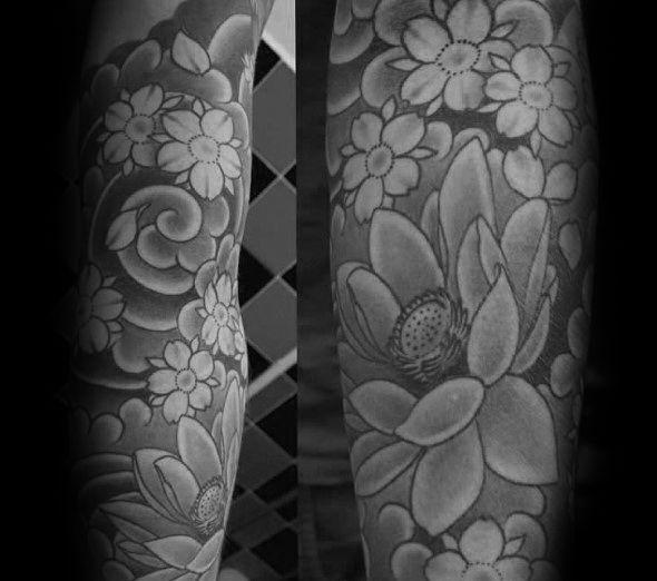 50 Japanese Flower Tattoo Designs For Men Floral Ink Ideas Ideas