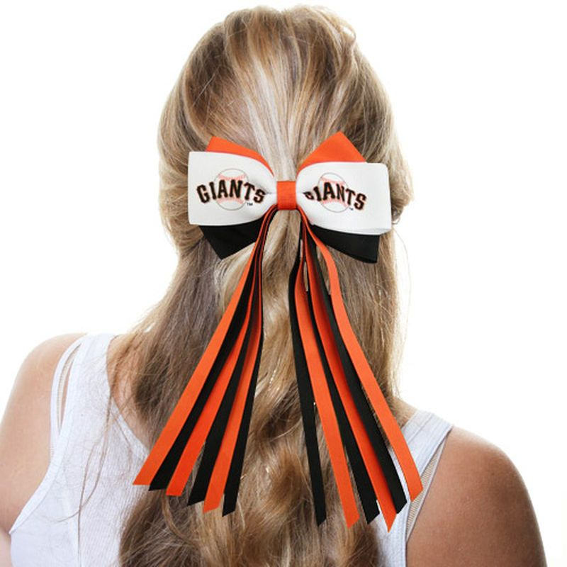 San Francisco Giants Streamer Bow Barrette