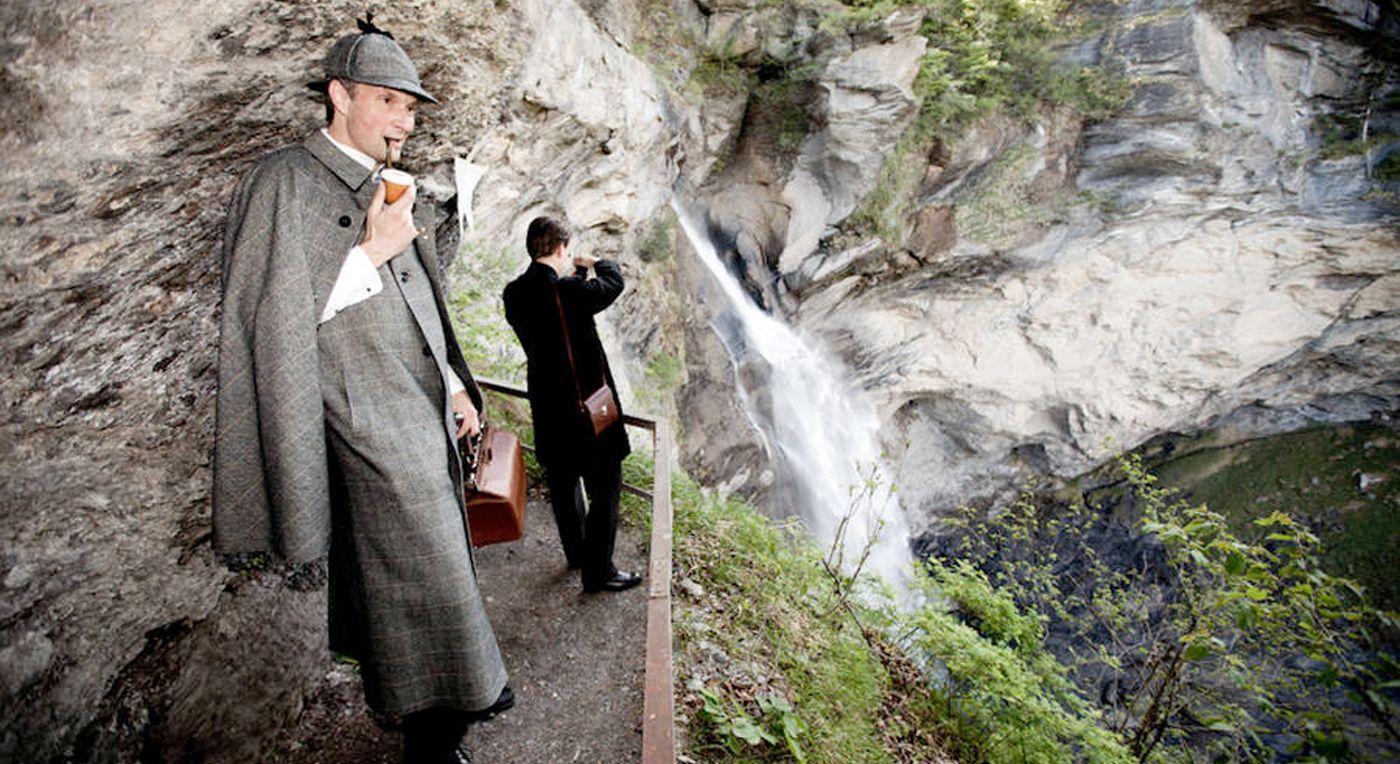 Sveits: Sherlocks siste scene – The Reichenbach Falls | Reiseliv