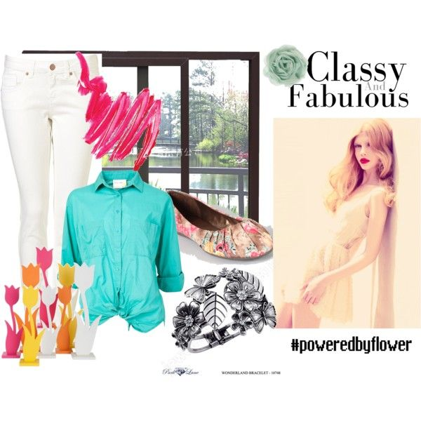Powered By Flower!, created by theedeandrab.polyvore.com
