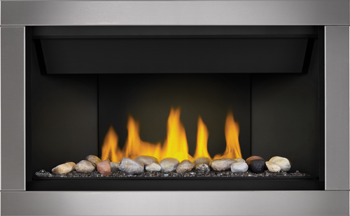 Ascent Linear Series Gas Fireplaces Canada Napoleon Fireplace